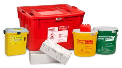 medical waste containers