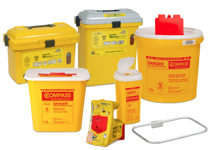 Compass Medical Waste Containers