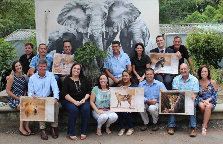 Group Photo for Compass Cares Calendar