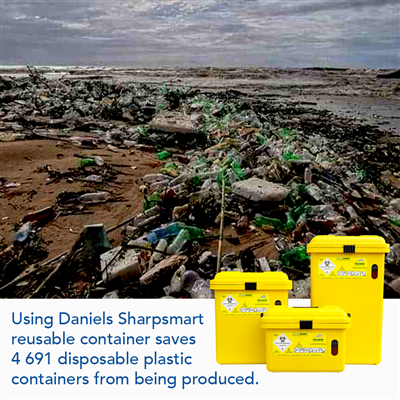 Daniels Sharpsmart reusable containers