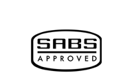 SABS Approved stamp
